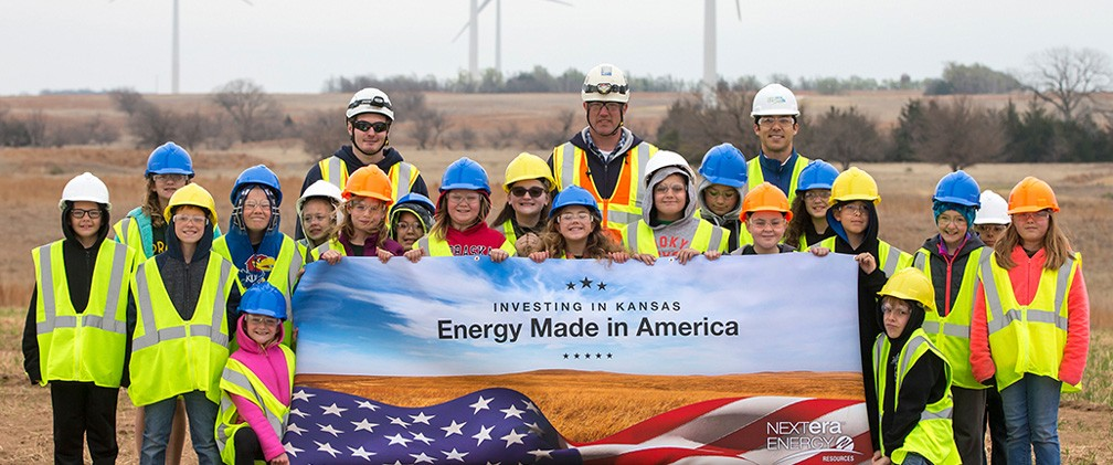 Ninnescah Wind Energy Center School Tour