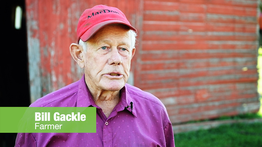 Bill Gackle, Farmer