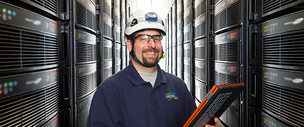 NextEra Energy Resources Engineer monitoring Energy Storage System