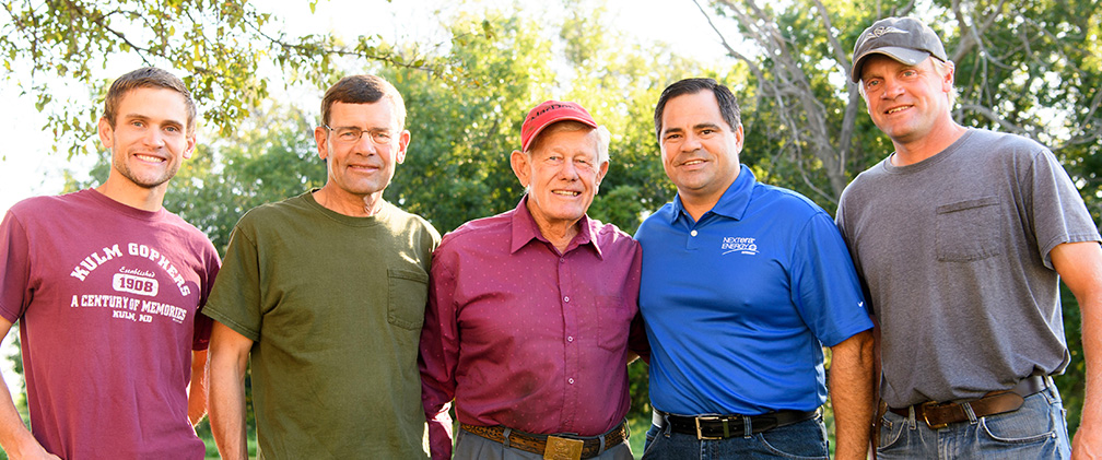 Landowners – Gackle Family father and sons