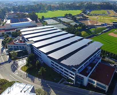 University of California (UC Irvine) solar-powered parking building