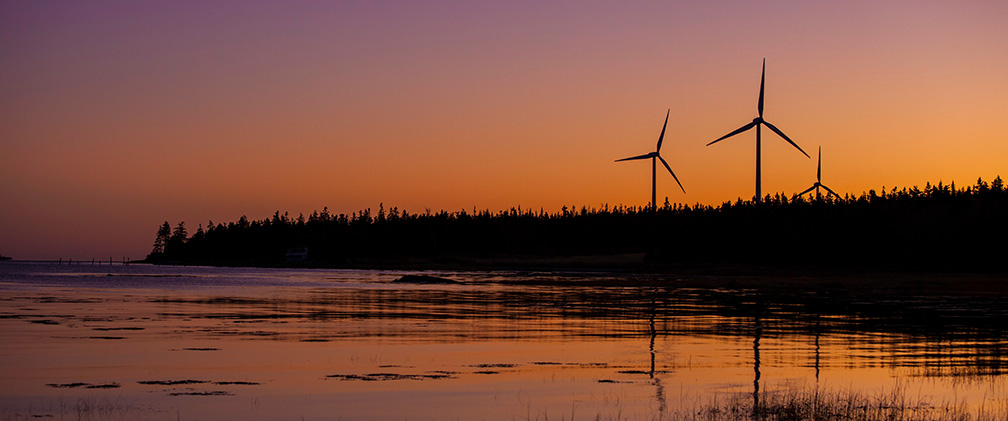 Canada, Pubnico Point Wind Energy Center