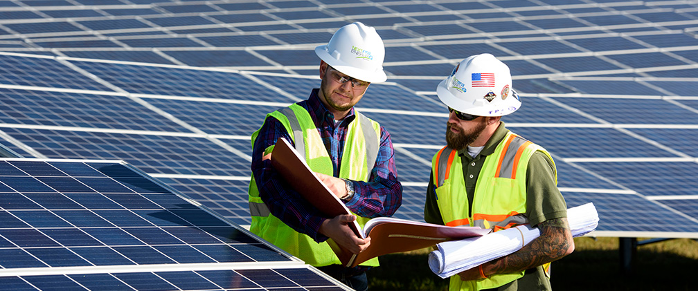 NextEra Energy Resources Engineers at White Pine Solar Energy Center, Butler, GA